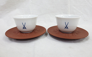 Meissen(マイセン)剣マークコレクション 湯呑み&茶托