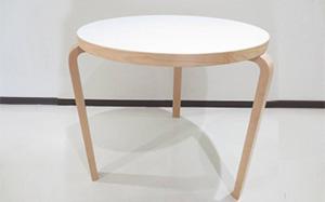 アルヴァ アアルト テーブル90B ホワイト