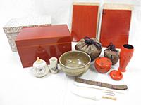 春慶塗 茶箱