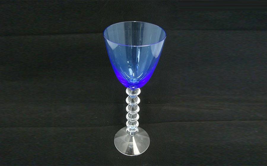 Baccarat(バカラ)ベガ ラインワイングラス 【ブルー】