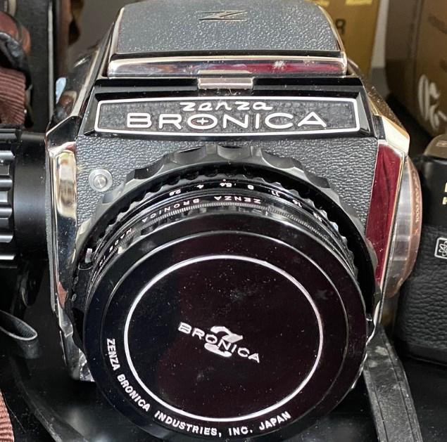 ゼンザブロニカ カメラ買取