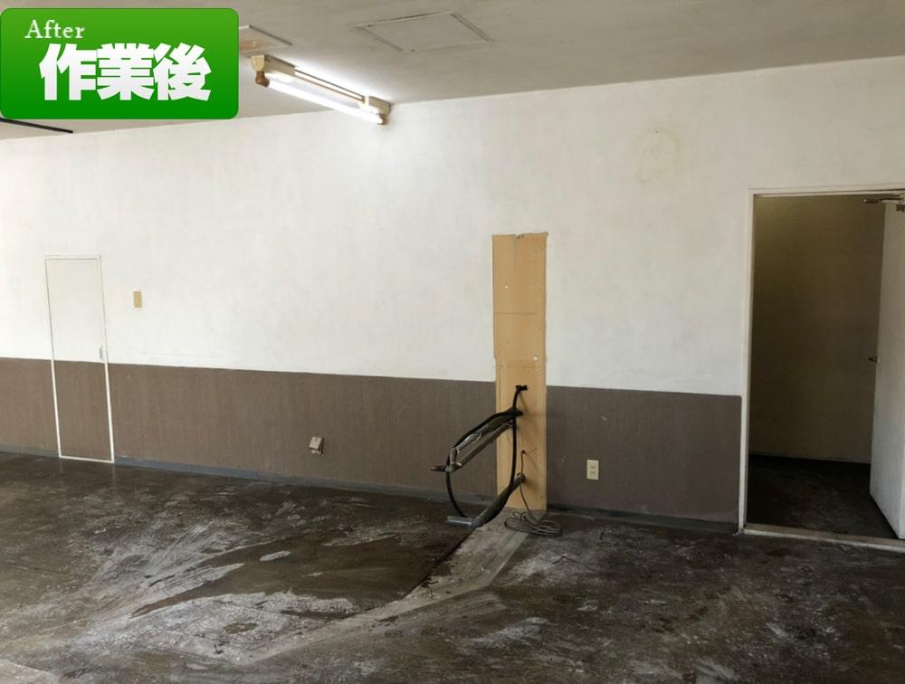 札幌市東区美容室片付け処分(2021年2月)