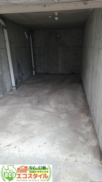 札幌車庫・倉庫片付け処分(2021年3月・中央区)