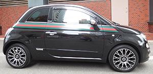 車買取実績 FIAT 500 by GUCCI1