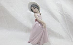 Lyddro(リヤドロ)「可愛いアイリス」陶器人形