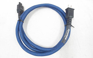 Zonotone6N2P-3.5 Blue Megane 電源ケーブル