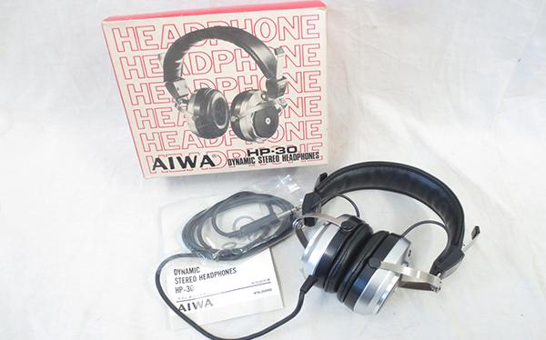 AIWA アイワ ダイナミックヘッドホン HP-30