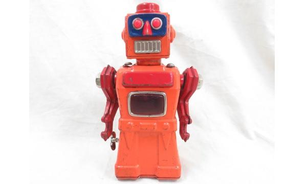 アオシン トレメンディスマイク ロボット ブリキ製