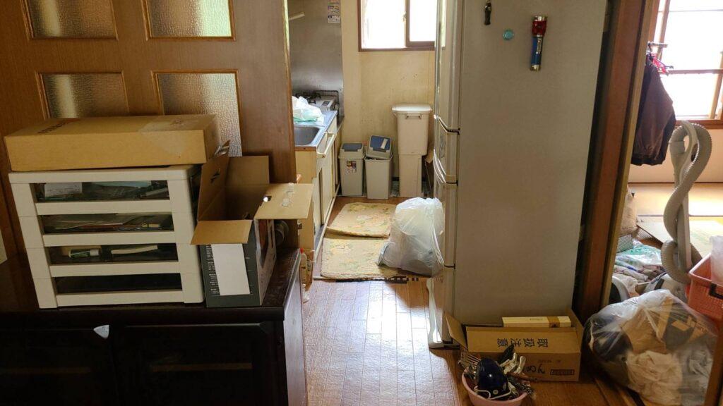 札幌マンション・アパート片付け処分 (2021年7月・2LDK 厚別区)
